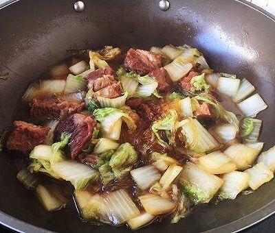 大白菜炖牛肉(附炖牛肉方法)的做法 步骤21