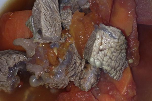 大喜大牛肉粉试用之番茄牛肉汤的做法