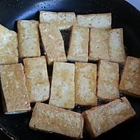 年夜饭下酒小菜——快手香辣虎皮豆腐的做法图解2