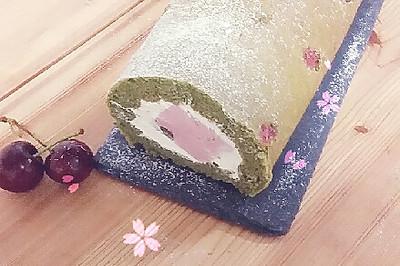 樱花抹茶卷