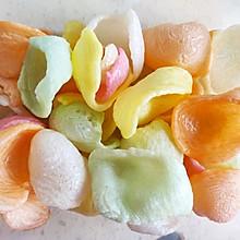 膨化虾片(无油微波炉版)