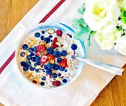 一分钟就好的燕麦早餐#花10分钟,做一道菜!#的做法