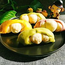 果蔬馒头-豌豆宝宝