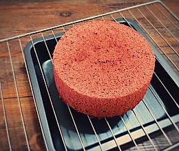 红丝绒蛋糕(6寸)的做法
