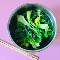 青菜鲜肉汤圆的做法图解8