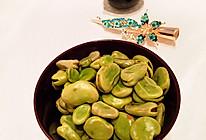 #夏日素菜#油盐蚕豆的做法