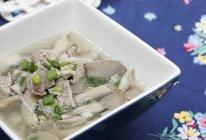 平菇肉片汤的做法
