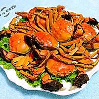 清蒸河蟹#宴客拿手菜#的做法图解8