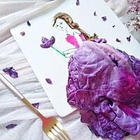 #硬核菜谱制作人#紫甘蓝美女的做法图解8
