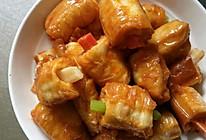 糖醋油(条)藕笋胡条排的做法