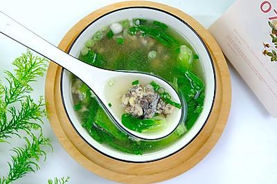 青菜丸子汤