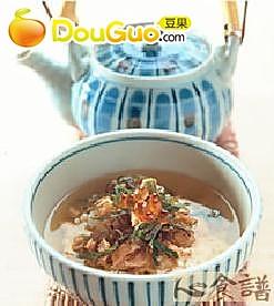 鲑鱼茶渍泡饭的做法