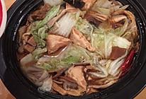 塔吉锅白菜粉丝煲的做法