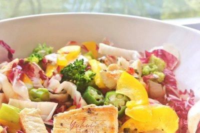 想吃什么吃什么的炫彩沙拉时光