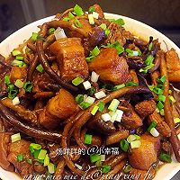 茶树菇烧肉(详细步骤)