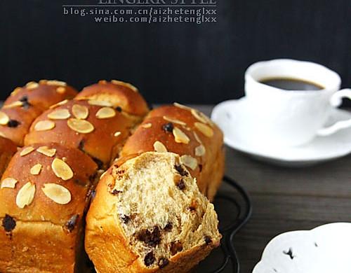 焦糖巧克力面包