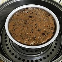 暖暖的甜:红糖红枣蒸糕的做法图解10