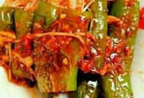 虎皮青椒金针菇的做法