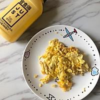 #植物蛋 美味尝鲜记#JUST蛋蔬菜沙拉手抓饼的做法图解2
