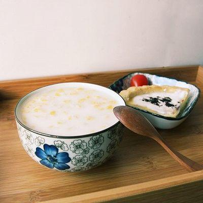 椰奶燕麦粥