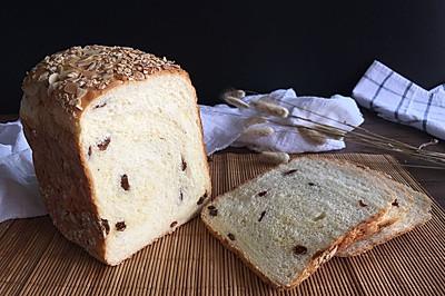 面包机版果干燕麦吐司#东菱Wifi云智能面包机#
