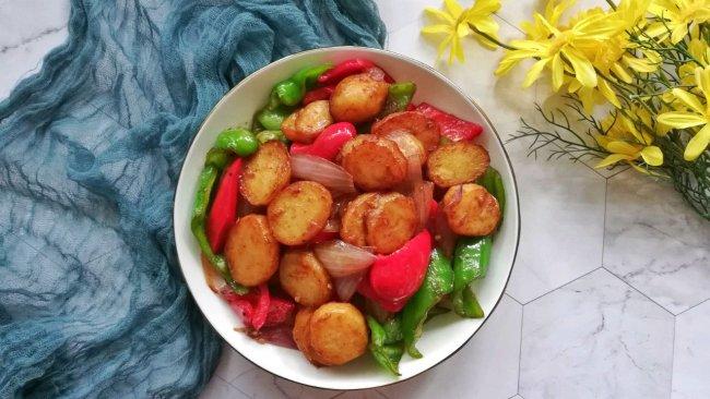 西北特色东乡土豆片#父亲节,给老爸做道菜#的做法