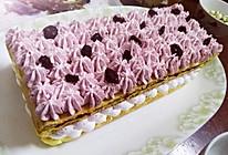 樱桃蔓越莓奶油蛋糕的做法