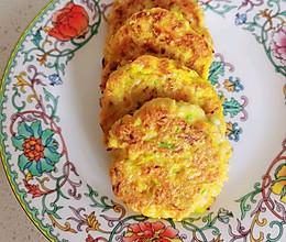 减脂食谱—西葫芦鸡肉饼的做法