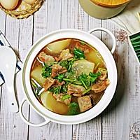 #合理膳食 营养健康进家庭#白萝卜牛腩汤的做法图解11