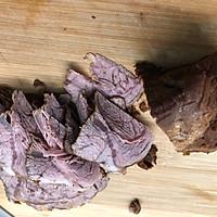 凉拌盐边牛肉的做法图解8