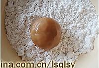 广式月饼.莲蓉蛋黄月饼--【食心食意】的做法图解9