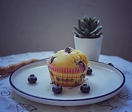 #520,美食撩动TA的心!#会爆浆的小蛋糕-蓝莓马芬的做法