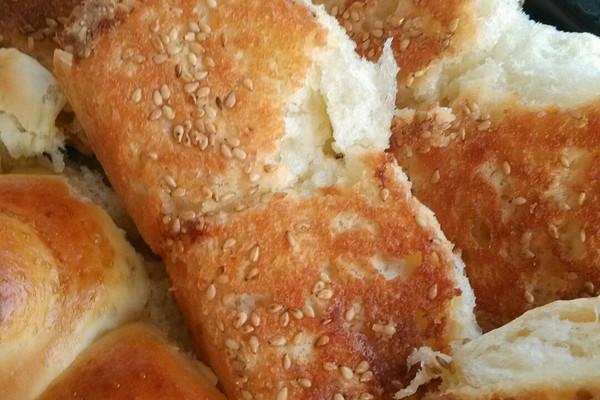 中种蜂蜜小面包的做法