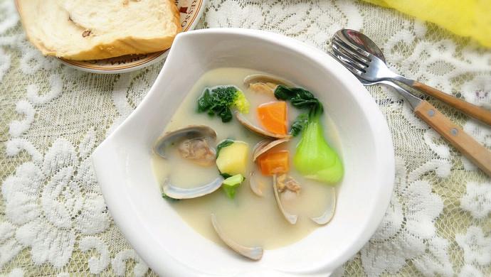 【新品】奶炖花蛤浓汤
