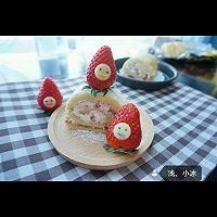 蛋糕卷--草莓瑞士卷的做法图解7