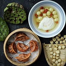 #美食新势力#夏季消暑甜品之鲜莲荷包甜汤