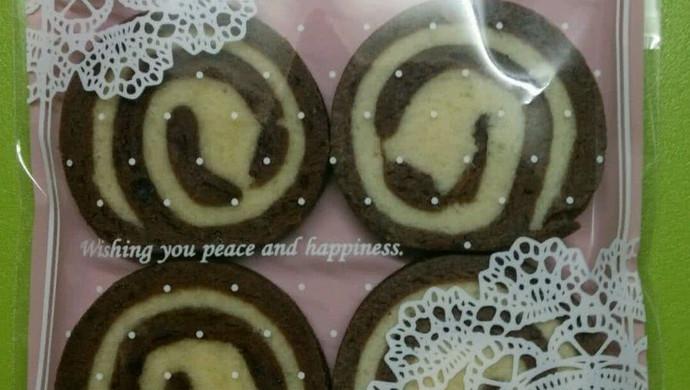 双色巧克力饼干
