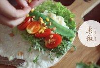 彩虹蔬菜卷的做法