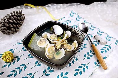 超鲜甜的~沙白螺冬瓜汤
