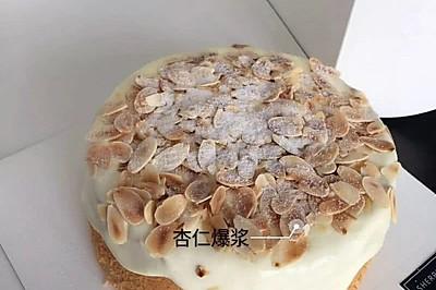 爆浆流心蛋糕