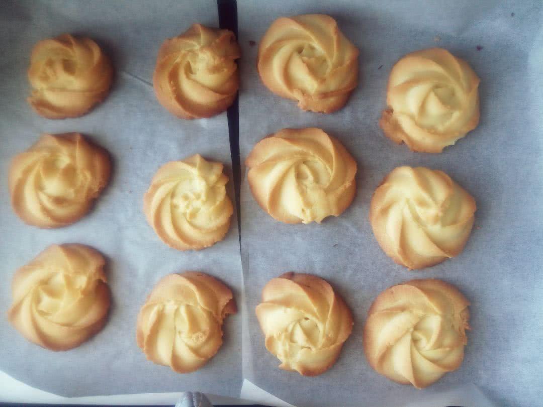 黄油曲奇饼干的做法图解10