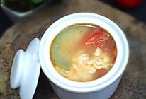 夏季好汤水——番茄丝瓜鸡蛋汤的做法