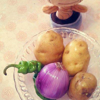 没有干锅的干锅土豆的做法 步骤1