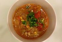 番茄牛肉蔬菜汤的做法