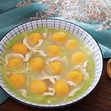 鸡丝莴笋南瓜汤