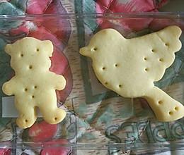 黄油曲奇饼干(公仔曲奇)(动物曲奇饼干)的做法