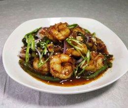 #我们约饭吧#香辣虾仁的做法