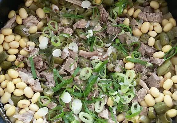 豆角土豆焖饭的做法