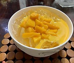 芒果冰粉粉的做法