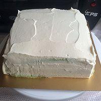 8寸生日蛋糕(方形)的做法图解8